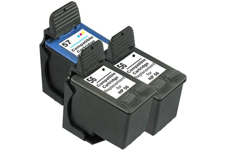 56 Remanufactured Inkjet Cartridge Set with Extra Black