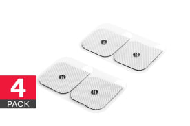 4 Pack Spare Pads for Bella Vita Wireless TENS Massager