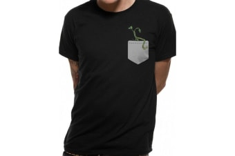 Crimes Of Grindelwald Unisex Adults Pickett In My Pocket Design T-Shirt (Black)