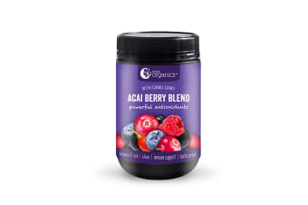 Nutra Organics Acai Berry Blend with Camu Camu 200g Powder