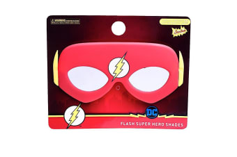 Lil Characters The Flash Sun-Staches - Dress Up Sunglasses