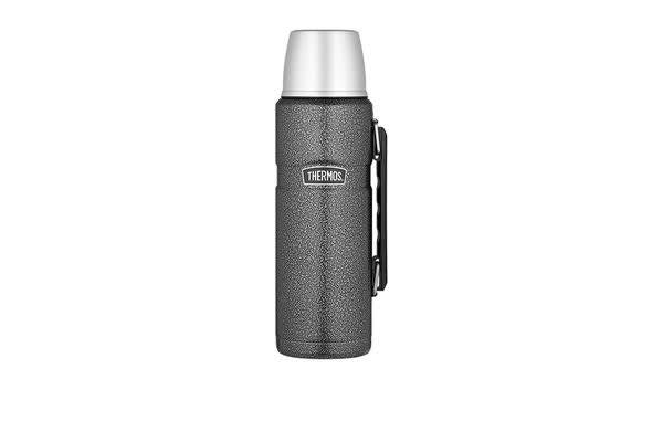 Thermos Stainless King S/S Vacuum Insulated Flask 1.2L Hammertone