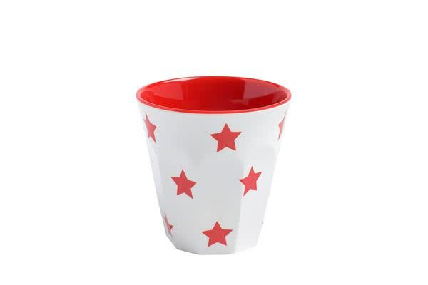 JAB Design Melamine Star Tumbler 300ml Red