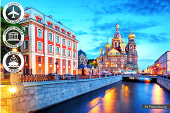 EUROPE: 20 Day Scandinavia Tour and Baltic Cruise Including Flights for Two
