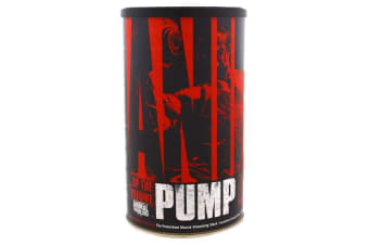 Universal Nutrition Animal Pump The Preworkout Muscle Volumizing Stack - 30 Packs