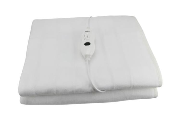 Single Size - Electric Blanket Washable Fitted Polyester Controller Led Display Digilex