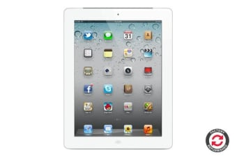 Apple iPad 2 Refurbished (32GB, Cellular, White) - AB Grade