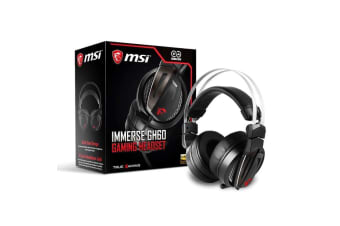 MSI Immerse Gaming Headset with Hi-Res High Quality Speaker for PC & Mobile - GH60