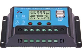 Altronics 12/24V 20A Solar Charge Controller With USB
