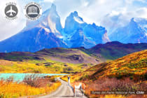 SOUTH AMERICA: 15 Day Patagonia Discovery Tour Including Flights for Two