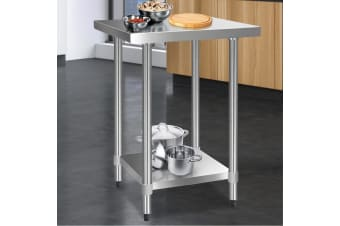 Stainless Steel Kitchen Benches Work Bench Food Prep Table 610x610