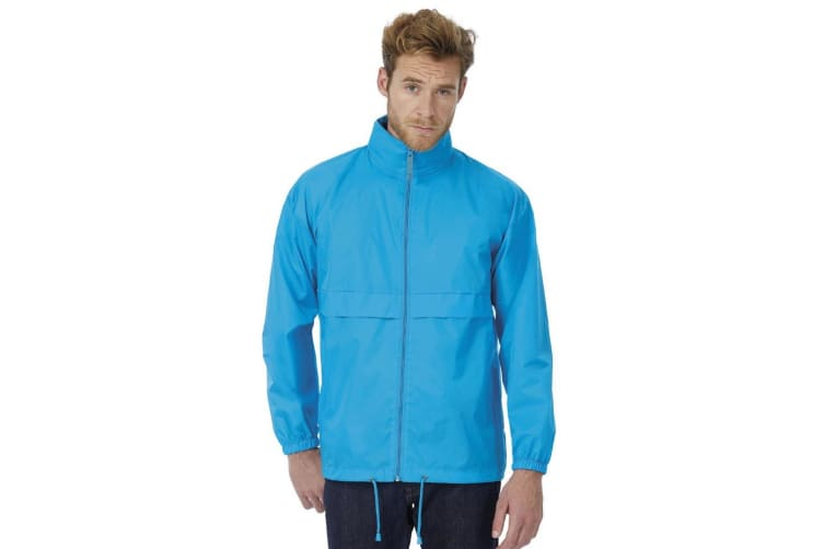 B&C Sirocco Mens Lightweight Jacket / Mens Outer Jackets (Atoll) (XL)