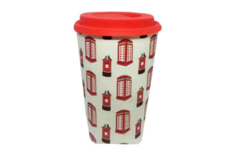 Bamboo Eco Post Box Travel Mug (Multicoloured) (One Size)