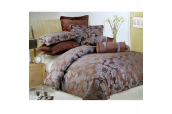 7 Pce Bliss Quilt Cover Set Bed Set by Lux
