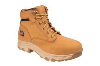 Timberland Pro Mens Workstead Lace Up Safety Boot (Wheat) (7 UK)