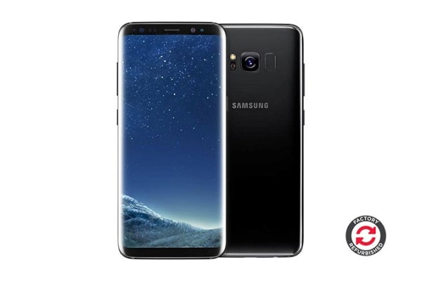 Samsung Galaxy S8+ Refurbished (64GB, Midnight Black) - AB Grade