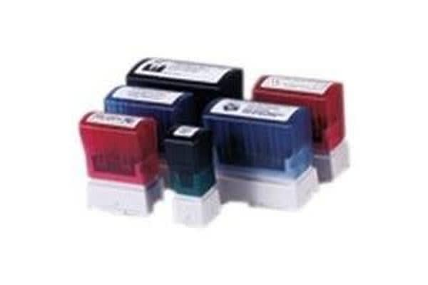 Brother 18 x 50mm Black Stamp -BOX OF 6