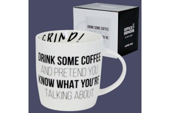 Drink Coffee & Pretend You Know What You`re Talking About Mug