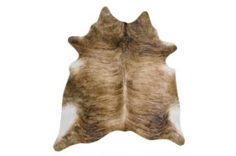 Exquisite Natural Cow Hide Brindle 170x180cm