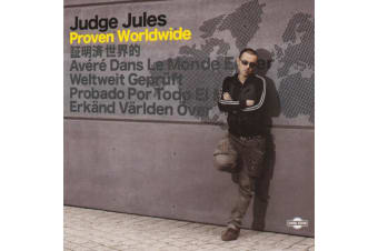 Judge Jules  - Proven Worldwide BRAND NEW SEALED MUSIC ALBUM CD - AU STOCK