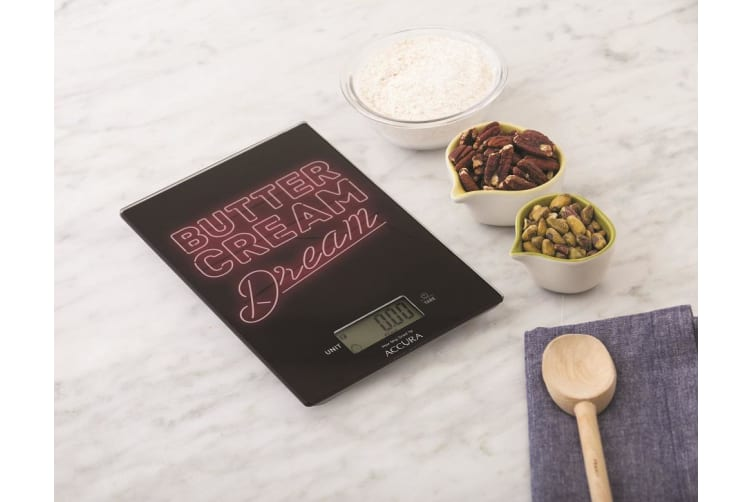 Accura Hypnos Electronic Kitchen Scale 5kg Butter Cream Dream