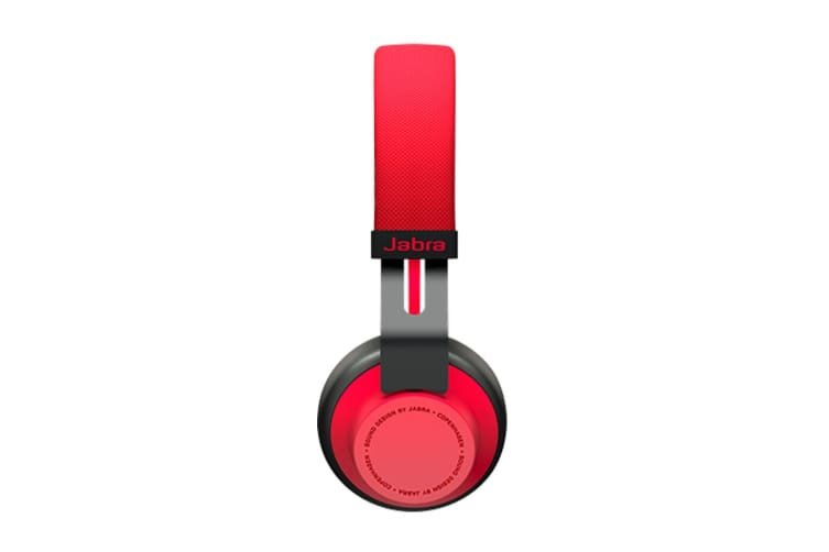 Jabra Move Wireless On-Ear Headphones (Red)