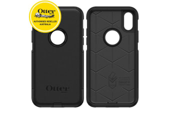 Otterbox Commuter Rugged Case Cover for iPhone X/Xs Dust/Drop Protection Black