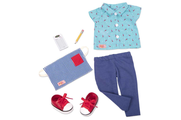 Our Generation Foodie Fashion Doll Clothes