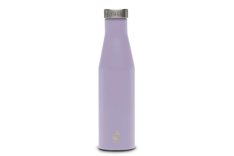 Mizu S6 Insulated Slim Series Bottle 19oz - Enduro Lavender with Stainless Lid