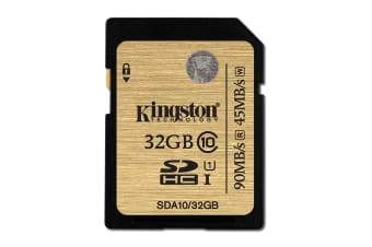 Kingston 32GB SDHC Card Class 10 UHS-I Ultimate (SDA10/32GB)