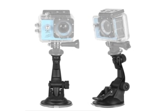 Action Camera Accessories Car Suction Cup Mount + Tripod Adapter for GoPro hero 7/6/5/4 SJCAM /YI