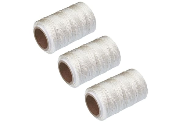 3x Avanti 60m Cotton Oven Safe Butcher Chefs Meat Food Ties Twine Cooking String