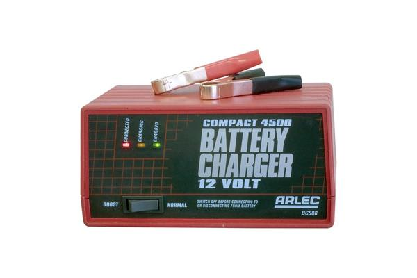 Arlec 4.5Amp Auto Battery Charger