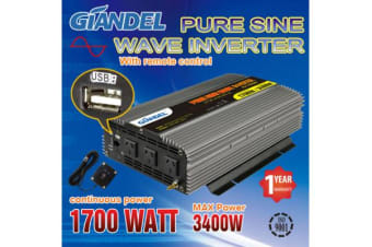 1000W Pure Sine Wave Inverter with Remote Control