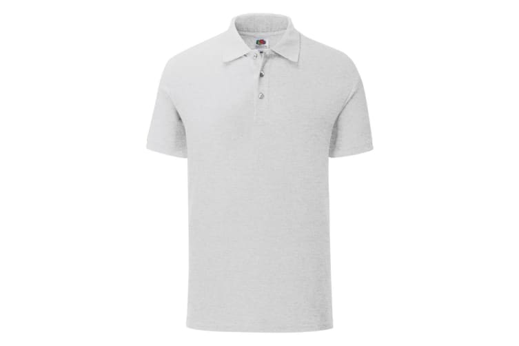 Fruit Of The Loom Mens Iconic Polo Shirt (White) (3XL)