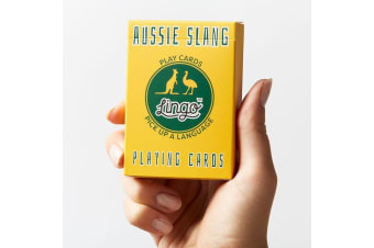 Aussie Slang Playing Cards | Quirky Gift For Travellers! | by Lingo