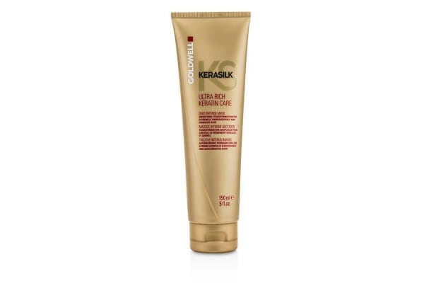 Goldwell Kerasilk Ultra Rich Keratin Care Daily Intense Mask - Smoothing Transformation (For Extremely Unmanageable and Damged Hair) (150ml/5oz)