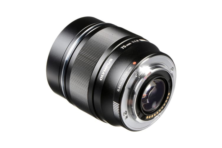 Olympus ET-M7518 M.Zuiko 75mm f1.8 Metal Body Portrait Lens - Black