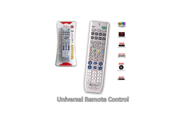 Sansai 8 In 1 Universal Remote Learning Function and Memory Function
