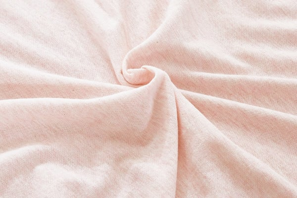 Gioia Casa Jersey Cotton Fitted Sheet (King/Pink Marble)