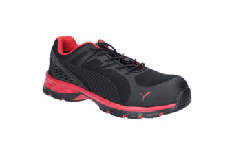 Puma Safety Mens Fuse Motion 2.0 Trainer (Red/Black)