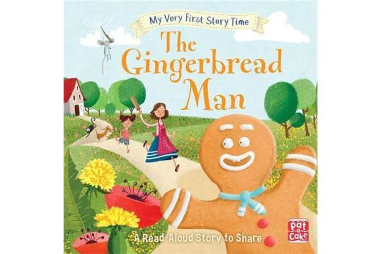 My Very First Story Time: The Gingerbread Man - Fairy Tale with picture glossary and an activity