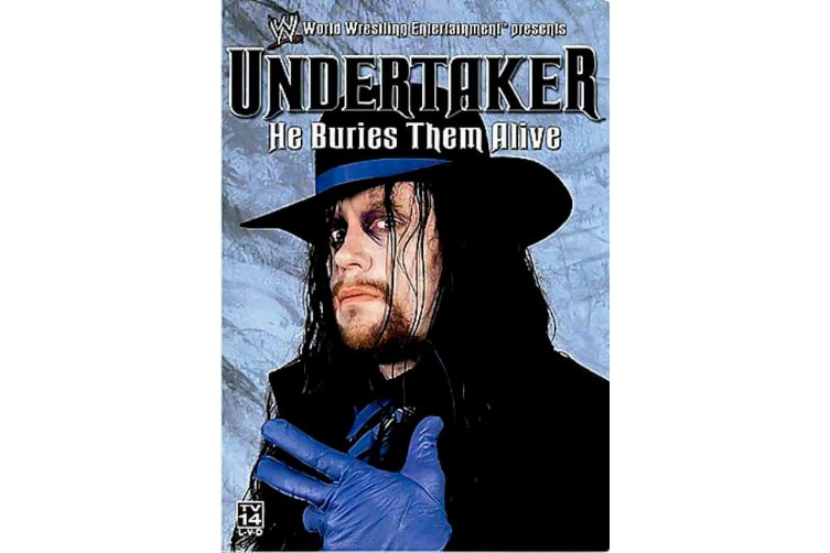 WWE - Undertaker - He Buries Them Alive Region 1 - Region 1 DVD Preowned: Excellent Condition
