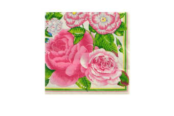 CTC Napkins Luncheon 20pk Pink Blooms