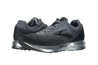 Brooks Men's Levitate 2 (Black/Grey/Ebony, Size 7)