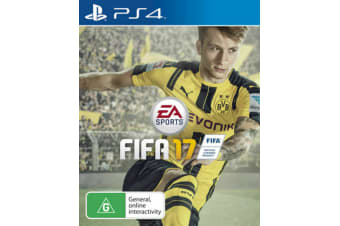 FIFA 17 G Rating PS4 PlayStation 4 GAME GREAT CONDITION
