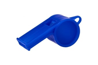 Bullet Hoot Traditional Referee Whistle (Blue) (One Size)
