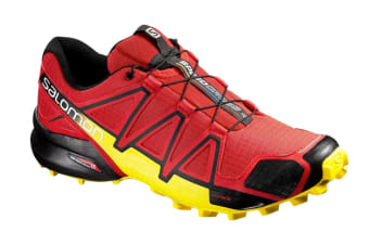 Salomon Men's Speedcross 4 (Radiant Red/Black, Size 11.5)