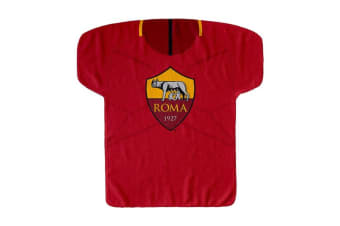 AS Roma Kit Shaped Multi Purpose Towel (Red/Yellow)