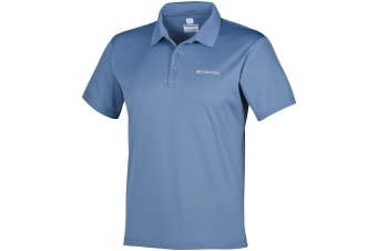 Columbia Mens Zero Rules Polo - Whale